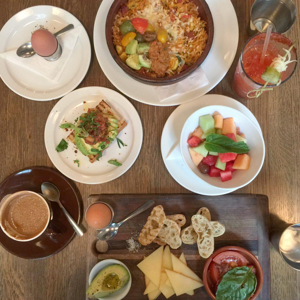 brunch at Cafe Medina in Vancouver