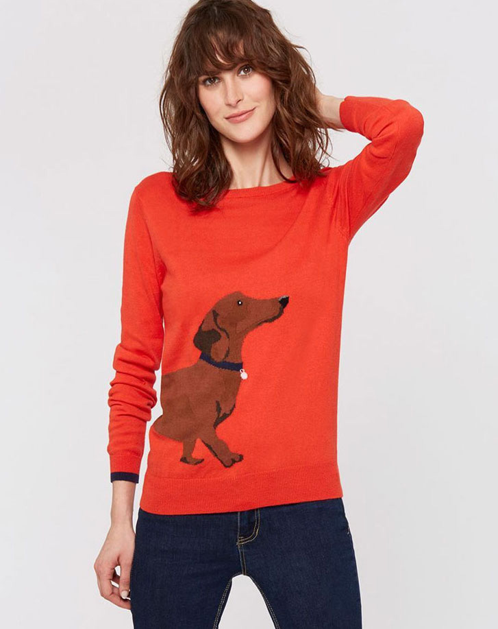 joules-red-dachshund-jumper-sweater
