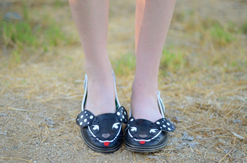 irregular choice woofy flats