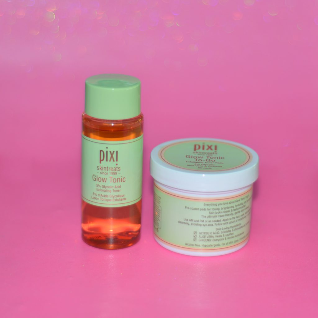 pixi glow tonic and glow tonic to-go