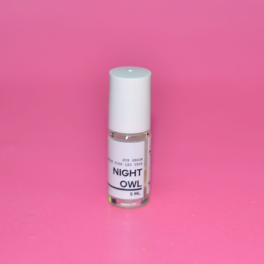 here and now botanicals night owl eye serum