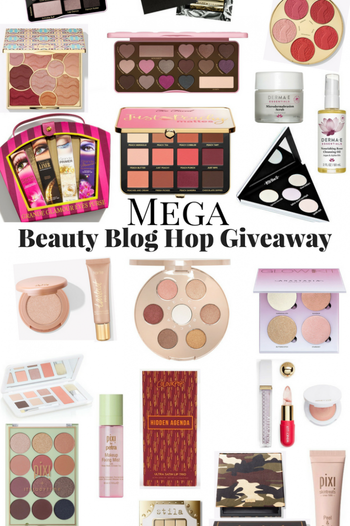 Mega Beauty Blog Hop Giveaway