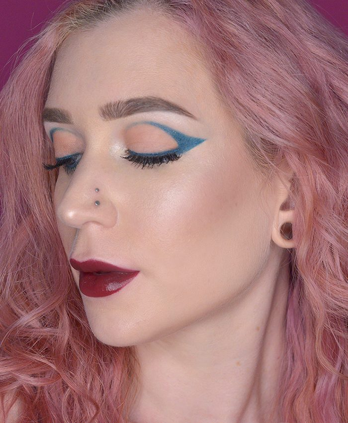 Edgy Holiday Makeup With L'BRI