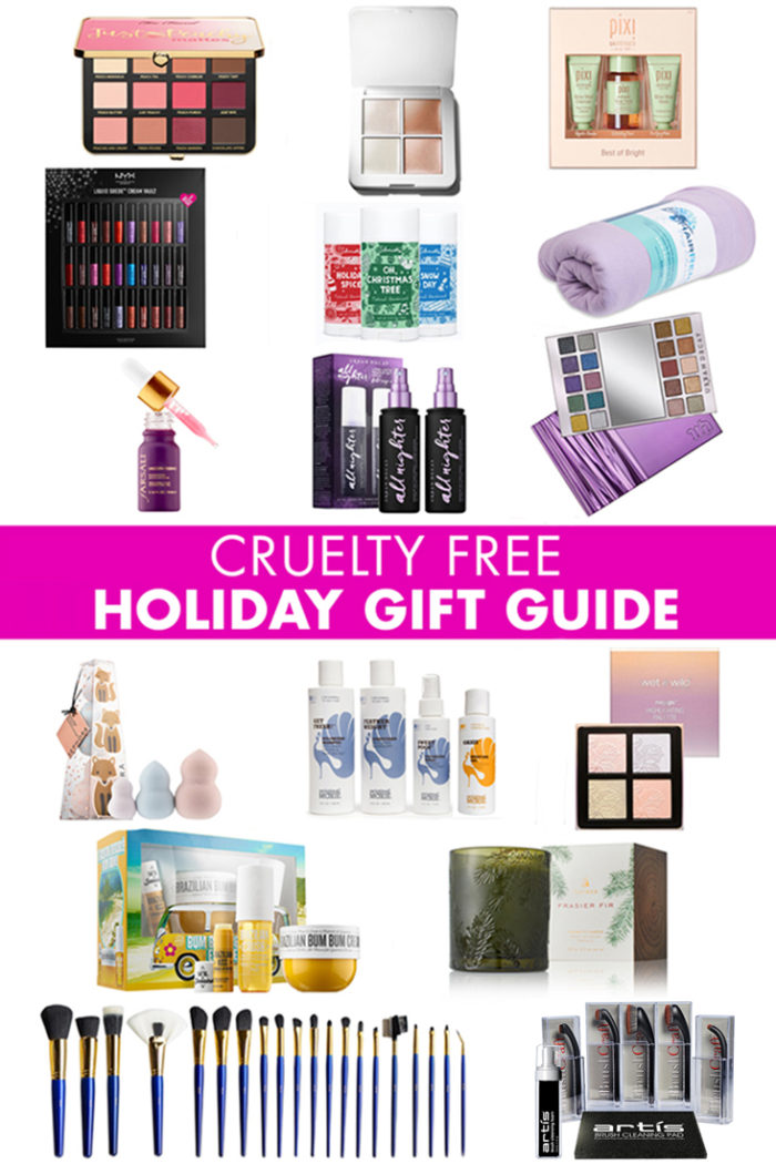 Cruelty Free Beauty Holiday Gift Guide